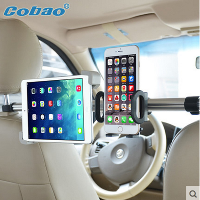 Car Backseat Headrest Tablet Bracket For Samsung Lenovo IPAD Air 2 3 4 5 6 Mini Pad Holder Stand