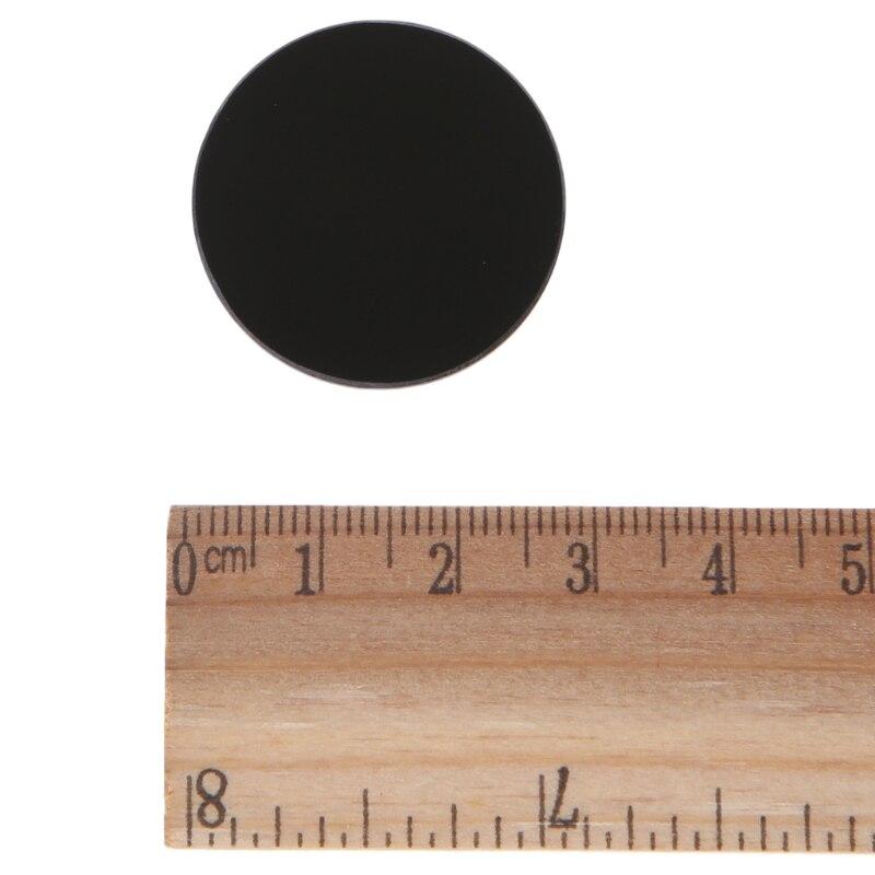 ZWB2 Ultraviolet UV Band Pass Filter UV Flashlight Diameter 28mm Thickness 2mm