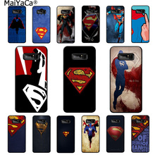 MaiYaCa Super Man Colorful Cute Phone Accessories Case for Samsung note 3 4 5 7