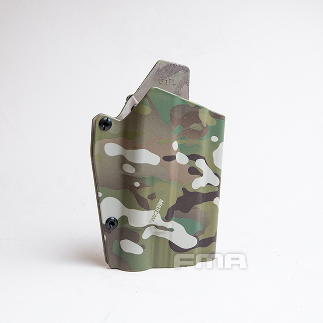 FMA G17L SF 라이트 베어링 홀스터 허리 퀵 권총 홀스터 G17/G19 및 X300 램프 용 1329