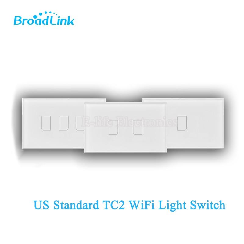 2017 Broadlink TC2 US / AU 1/2 / 3gang WiFi Ασύρματο - Έξυπνα ηλεκτρονικά - Φωτογραφία 2