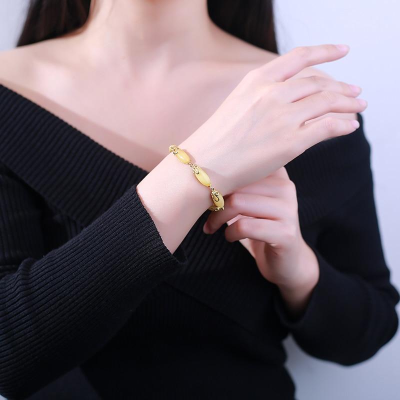 JIUDUO զարդեր 925 ստերլինգ արծաթագույն - Նուրբ զարդեր - Լուսանկար 3