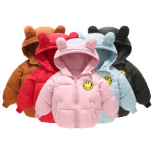 VTOM Baby Coat Autumn Winter Jacket For Baby Girls Boys Jacket Kids Warm Hooded Outerwear Coat For Kids Jacket Children Clothes