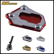 BYSPRINT For BMW R1200GS LC K50 2012-2016 R 1200 GS Adventure 2013-2016 CNC Kickstand Side Stand Enlarger Extension Plate Pad