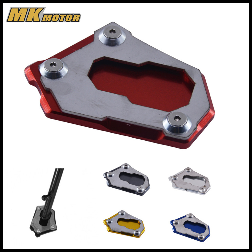 For BMW R1200GS LC K50 2012-2016 R 1200 GS Adventure 2013-2016 CNC Kickstand Side Stand Enlarger Extension Plate Pad
