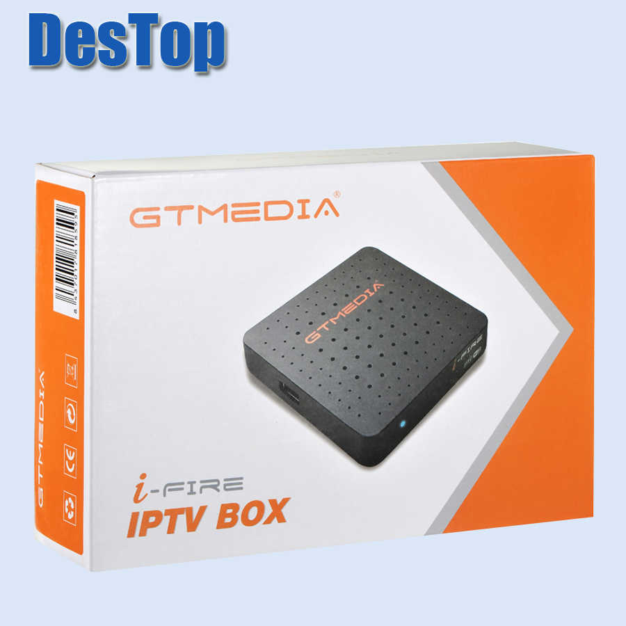 Gtmedia Ifire Satelliet Tv Ontvanger Full Hd 1080P Ingebouwde 2.4G Wifi Iptv Box Ondersteuning Voor Xtrem Iptv en Youtube