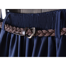 Surmiitro Midi Knee Length Summer Skirt Women With Belt 2019 Fashion Korean Ladies High Waist Pleated A-line School Skirt Female