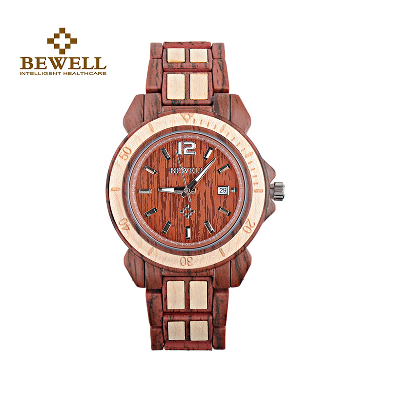 BEWELL Quartz-Wristwatches Gift Women with Round Alloy for Fashion Brand Designer Watch-Box