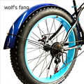 Wolf fang Fiets mountainbike road Sneeuw vet fietsen Accessoires fender Volledige dekking Nieuwe product gratis verzending