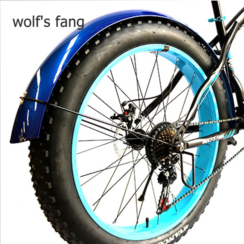 Wolf's Fang Bicycle Mountain Bike Road Snow Fat Bikes Accessories Fender Full Coverage New Product Free Shipping