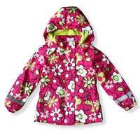 เด็ก/เด็ก/หญิงดอกไม้ parka & navy windproof/กันน้ำ trench, ฤดูใบไม้ผลิ/ฤดูใบไม้ร่วงแจ็คเก็ตขนแกะซับขนาด 98 ถึง 146