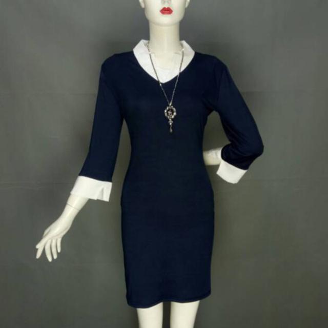 Elegant Women Office Lady Formal Wear Business Work Party Pencil Dress Suit  Best Sale-WT