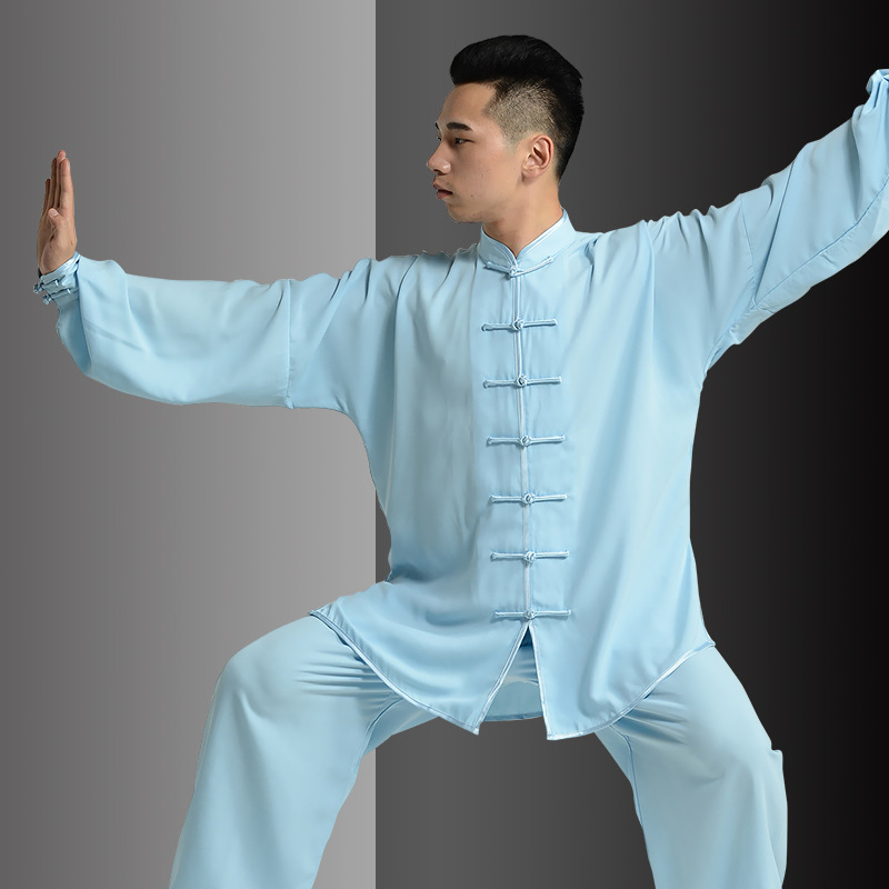 Tai Chi Uniform Taiji Boxing Performance Clothing Autumn Martial Art Practice Serve And WomenSuit Wing Chun Uniform