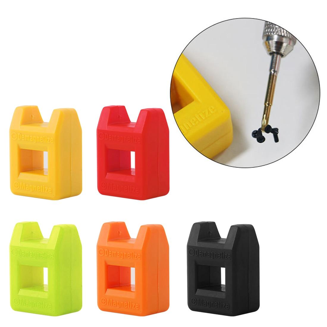 Screwdriver Strong Degausser Magnetizer Batch Head Magnetizer Plum Blossom Word Screwdriver Demagnetizer Random Color