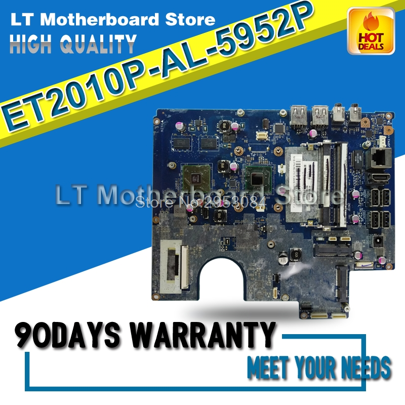 ET2010P AL-5952P Laptop motherboard For ASUS System Board Main Board Mainboard Card Logic board 100% Tested Motherboard used for toshiba 281c 351c 451c copier motherboard logic board interface board lgc board
