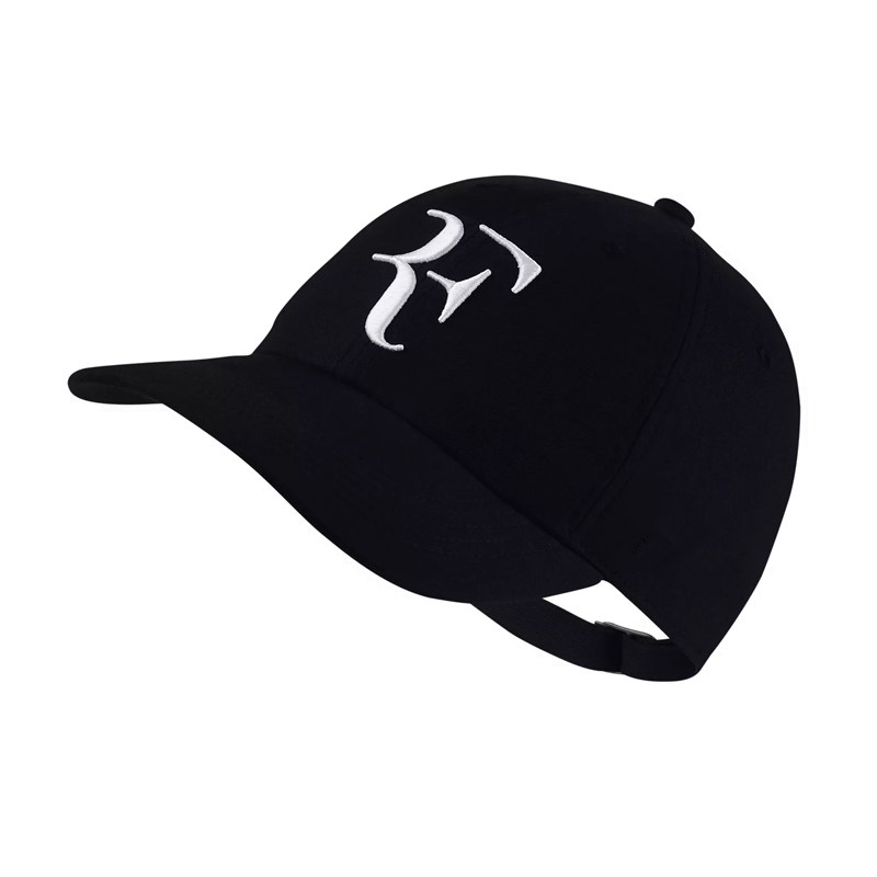 HTB1PnGSGY1YBuNjSszhq6AUsFXav - 2018 Tennis Star Roger Federer Dad Hat Sport baseball cap 100% cotton 3D embroidery Unisex Snapback caps Tennis hat F Hats