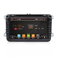 Two Din 8 Inch Car DVD Player For VW Volkswagen POLO PASSAT Golf Skoda Seat With