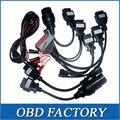 8 pcs por conjunto Cabo OBD2 Cabos Para tcs CDP Pro Carros carro MVD e multidiag wow snooper