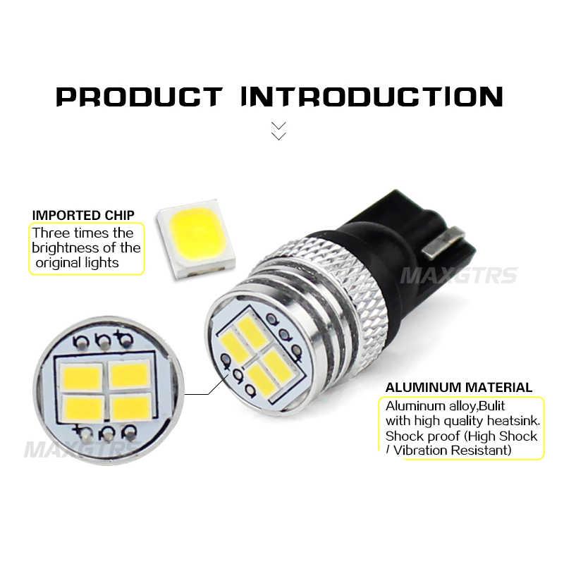 2x 5W Canbus W5W LED T10 Light 3020 SMD 12V Car LED Interior Light Clearance Bulbs Backup Reverse Lamp Number Parking Light