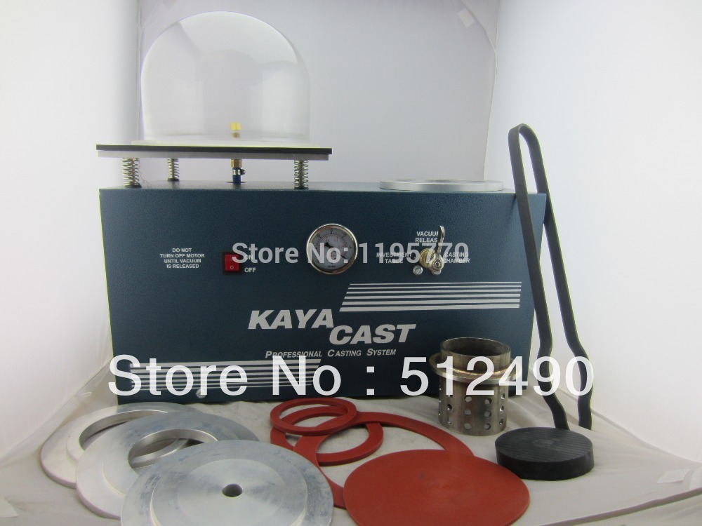220v/50/60Hz/ 1PhHot Sale KAYA Vacuum Casting Machine Jewelry Tools Top Quality