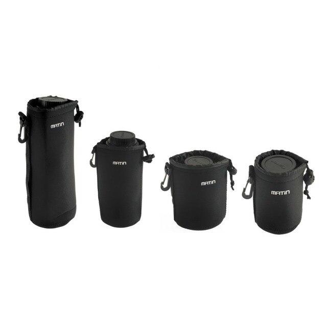 3mm thick (roughly) Neoprene Belt Loop Worldwide Matin Neoprene waterproof Soft Camera Lens Pouch bag Case Promotion