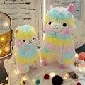 Горячая 35 см 50 см Радуга Vicugna Альпака Плюшевые Игрушки Каваи Овец Мягкие Игрушки Японский Мягкие игрушки Куклы Детские Игрушки детский Подарок