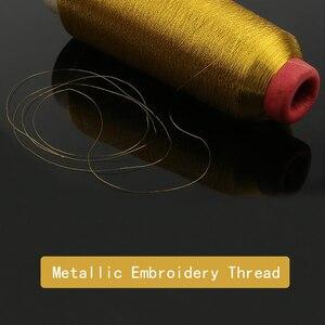 LMDZ 1 шт. 3200 м/рулон металлическая пряжа для вязания крючком крестиком металлические нити для вышивания нитей