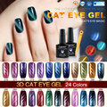 CANNI Magnetic Cat Eye Gel Polish High Quality 51023 Nail Art Salon 24 Colors Magnet Changing Soak off Cat Eyes Nail Polish Gel