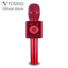 Ручной Bluetooth микрофон TOSING 04, беспроводной микрофон для караоке, телефонный проигрыватель, микрофон для записи музыки, микрофон KTV