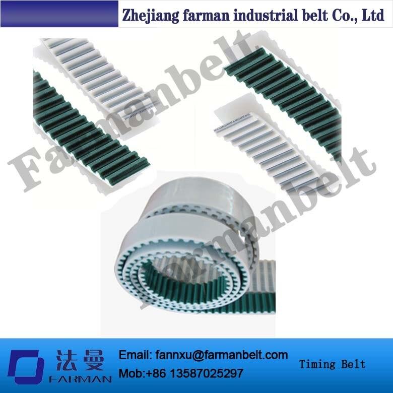 Pu Timing Belt At10+nft Teeth Face Green Cloth s3m pu open belts nft nfb nft nfb covering jointed industrial timing belt