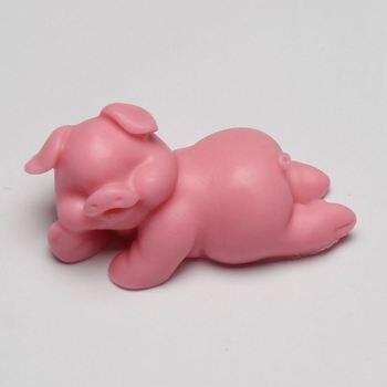 BB003 3D Porco Forma Molde Do Bolo Do Silicone Handmade Fondant Sabão Molde Para Decoração Acessórios de Cozinha
