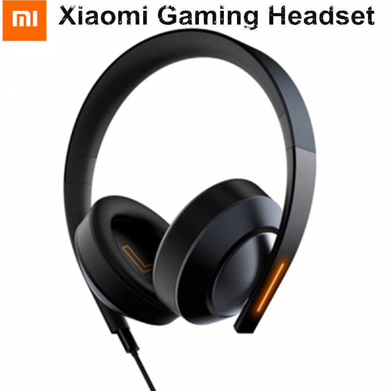 Original Xiaomi Mi Gaming Headset 7.1 Virtual Surround Sound Headphone with Mic Noise Cancelling USB 3.5mm Interface For Windows