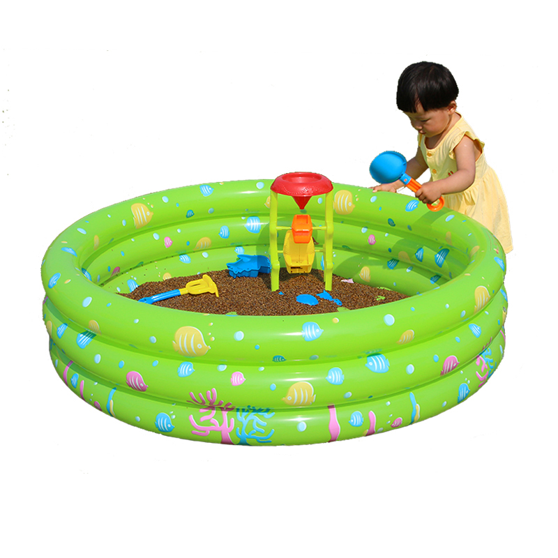 New Safe PVC Inflatable Swimming Pool Fashion Cartoon Ocean Balls Pool Bath Swimming Pool For Baby Kids