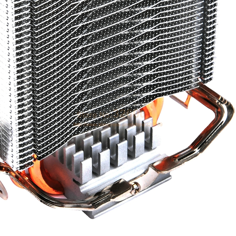 PcCooler 2 heatpipe 8cm fan CPU cooler radiator for Intel LGA 775/1150/1151/1155 for AMD AM2+/AM3/FM1/AM2/939 fan cooling