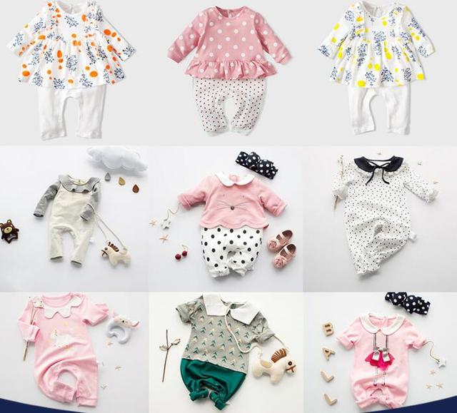 00932ff609a Ropa de bebé recién nacido mameluco para bebé de 0 a 3 meses bebé recién  nacido