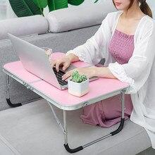 Tragbare Faltbare Klapptisch Für Laptop Schreibtisch Computer Notebook Stand Tablett Für Sofa Bett Workstation Home Office Möbel