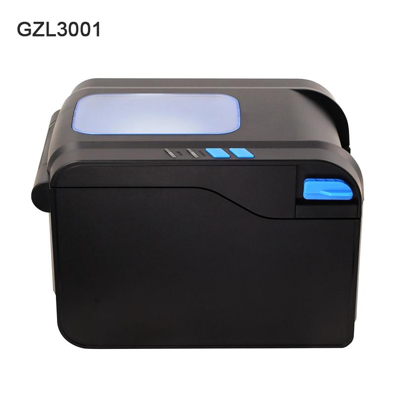 Thermal label printer USB 80mm Thermal Transfer Printer Receipt Barcode Printer 80mm Print Width for POS Logistic Jewlery Retail - 2