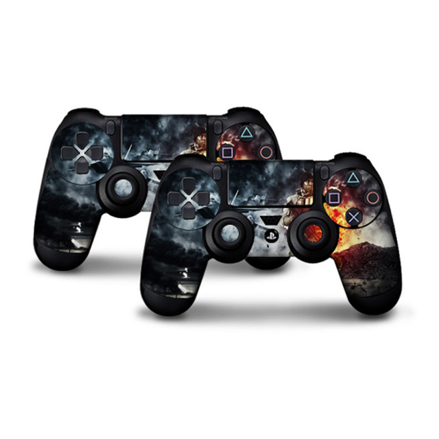 2 pcs Play station 4 Controller Protector Cover Skin Stickers for PS4 sony playstation 4 Controllers ps4 skin 2 Controller Skin 3