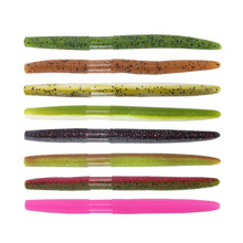5Pcs/lot 13.5cm 10g Artificial Sea Worms Earthworm Soft Fishing Lures Bait Lifelike Takcle Insect
