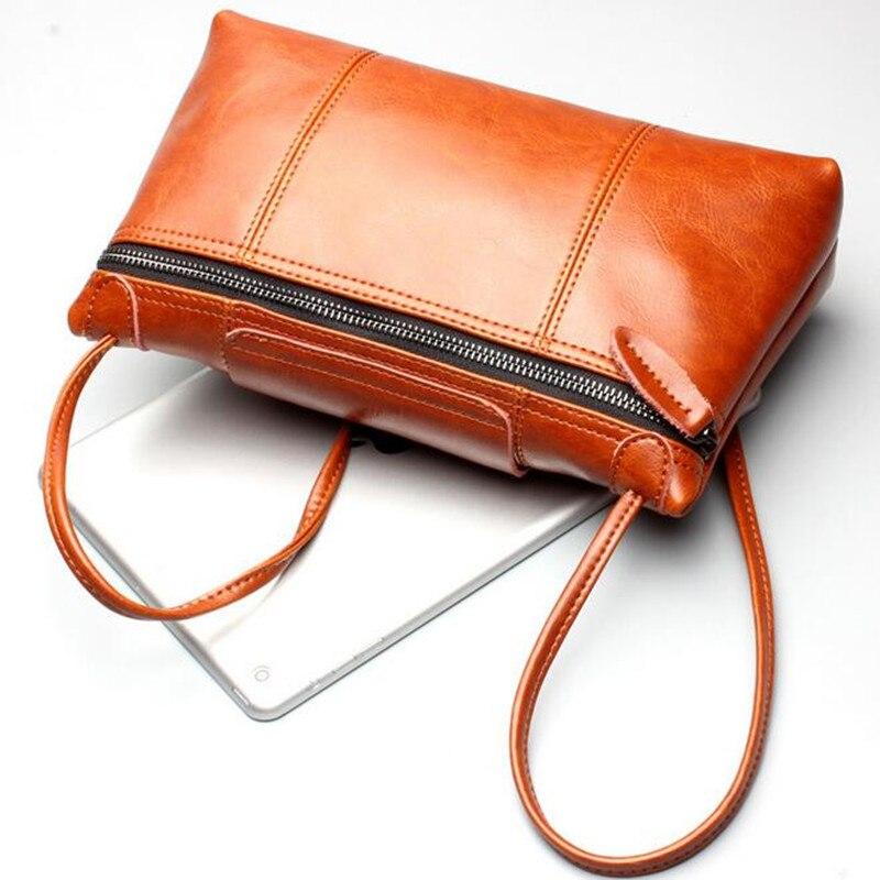 ФОТО New Brand Designer Women's Cow Split Leather Vintage Single Shoulder Bag Women Messenger Bags For Ladies