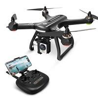 EU USA Thánh Đá HS700 GPS Selfie Drone với Camera HD FPV 1000m Phạm Vi Bay 2800mAh 5GHz động Cơ không chổi than RC Máy Bay Trực Thăng