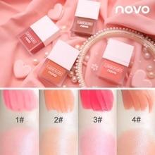 New Sleek Liquid Blusher Makeup Silky Blush 4 Color Moisturizing Long-lasting Natural Cheek Soft Face Contour