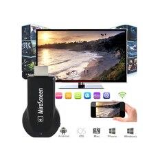 Mini Stick de TV para Android Mirascreen Miracast DLNA Airplay WiFi Pantalla TV Dongle HDMI display Hd 1080 P Receptor