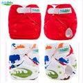 Nova Chegada New Born Baby fraldas de Pano Fraldas Com Microfibra Inserir Fraldas de Pano Reutilizáveis Transporte da gota NBD & NBL Série