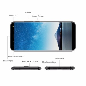 Image 3 - LEAGOO S8 Smartphone 5.72 HD + IPS 1440*720 ekran Android 7.0 MTK6750 Octa çekirdek 3GB + 32GB Quad Cam parmak izi 4G cep telefonu