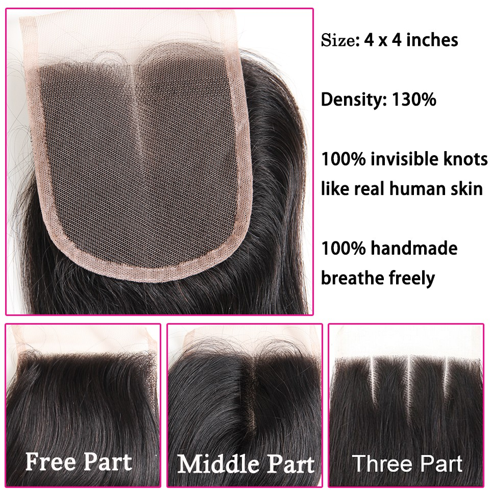 Brazilian virgin hair straight 22