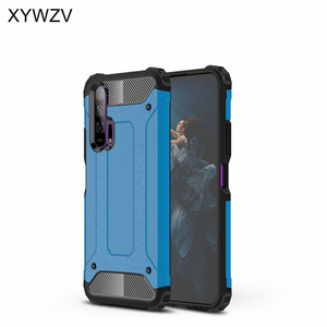 Image 3 - For Huawei Honor 20 Pro Case Soft TPU Silicone Armor Rubber Hard PC Phone Case For Huawei Honor 20 Pro Cover For Honor 20 Pro