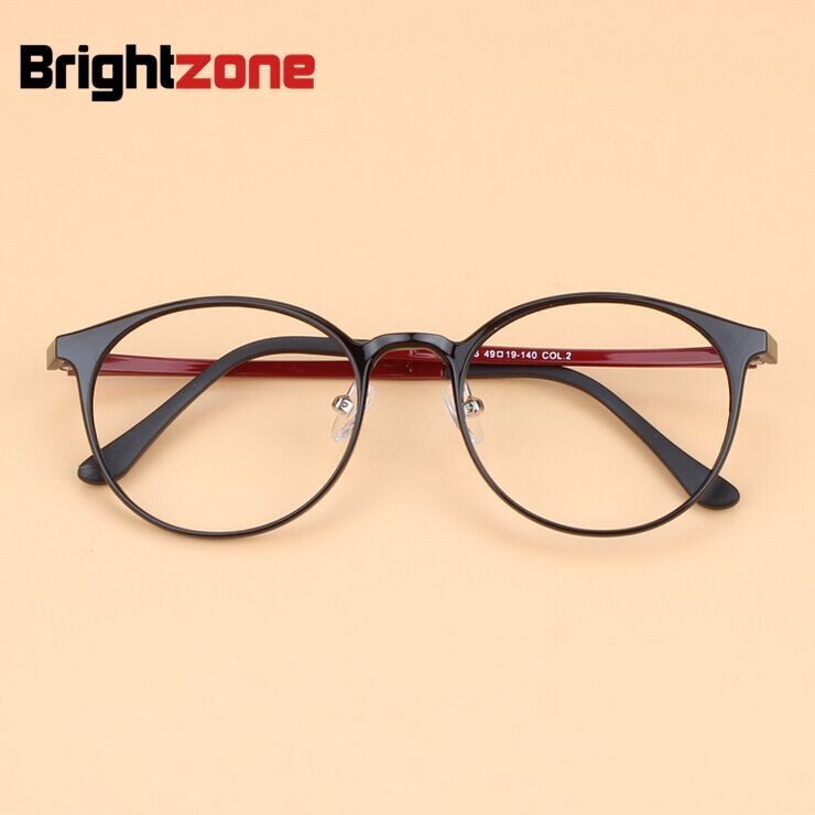 2019 High Quality Korea Ultralight Men Retro Round Ultem Tungsten Eyeglasses Women Fashion Plastic Steel Optical Glasses Frame