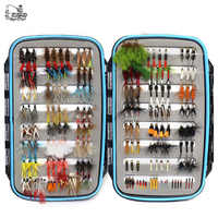 180 pcs Wet Dry Nymph Fly Fishing Flies Set Fly Lure Kit hand tied Flies for Trout Pike grayling