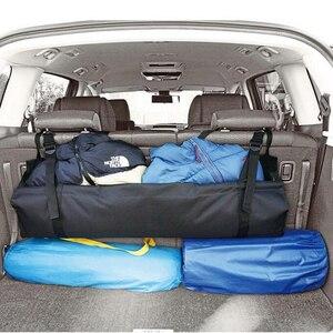 Image 5 - 자동차 뒷좌석 백 스토리지 백 멀티 매달려 그물 포켓 트렁크 가방 주최자 자동 스토킹 깔끔한 인테리어 액세서리 용품